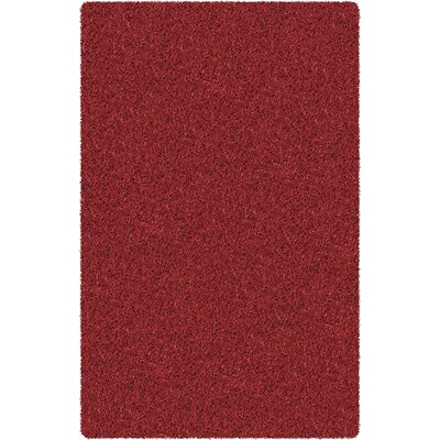 Zara Burgundy Area Rug Rug Size: Rectangle 5 x 76