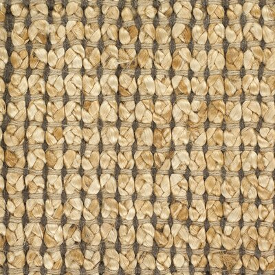 Politte Brown Area Rug Rug Size: 7'9