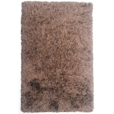 Spellman Hand-Woven Brown Area Rug Rug Size: 79 x 106
