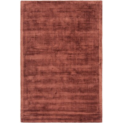 Stockman Hand-Woven Terra Area Rug Rug Size: 79 x 106