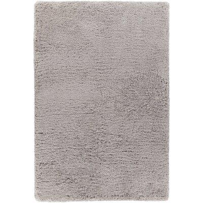 Garretson Hand-Woven Silver Area Rug Rug Size: 9 x 13