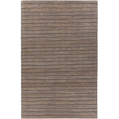 Kendall Hand-Woven Gray Area Rug Rug Size: 79 x 106