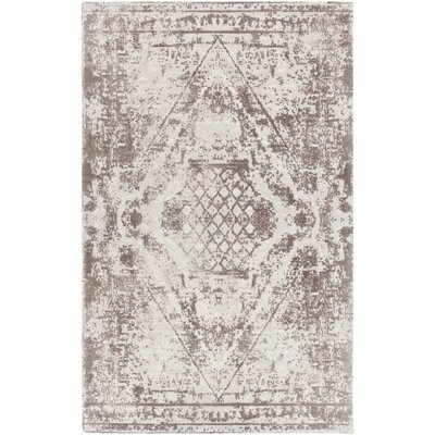 Tayla Hand-Tufted Gray/Charcoal Area Rug Rug Size: 5 x 76