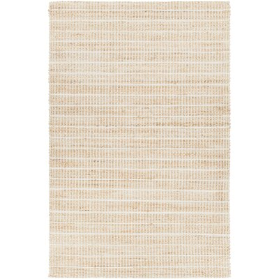 Kendall Hand-Woven Silver Area Rug Rug Size: 79 x 106