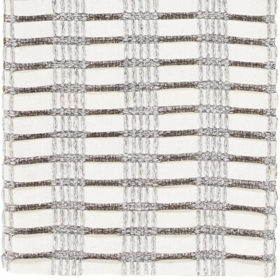 Allerdale Hand-Woven Ivory Area Rug Rug Size: 79 x 106