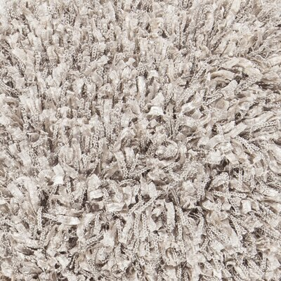 Funkhouser Hand-Woven Silver Area Rug Rug Size: 5 x 76