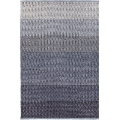 Faynett Hand-Woven Blue Area Rug Rug Size: 5 x 76