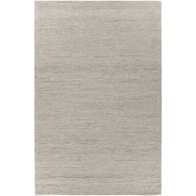 Laxford Hand-Woven Sand/Silver Area Rug Rug Size: 5 x 76