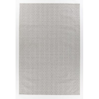 Argenta Hand-Woven Gray Geometric Area Rug Rug Size: 5 x 76
