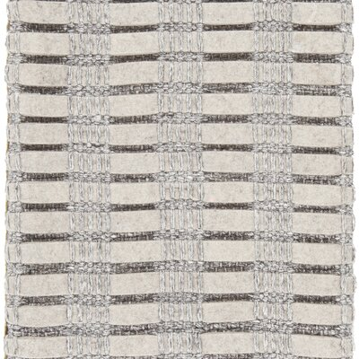 Allerdale Hand-Woven Silver Area Rug Rug Size: 5 x 76