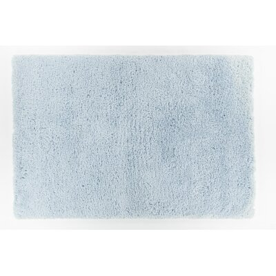 Garretson Hand-Woven Sky Blue Area Rug Rug Size: 79 x 106