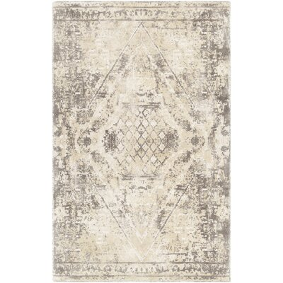 Cristal Hand-Tufted Yellow Area Rug Rug Size: 5 x 76