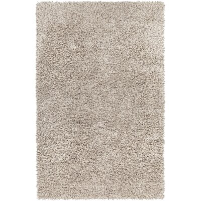 Parvarti Hand-Woven Taupe Area Rug Rug Size: 5 x 76