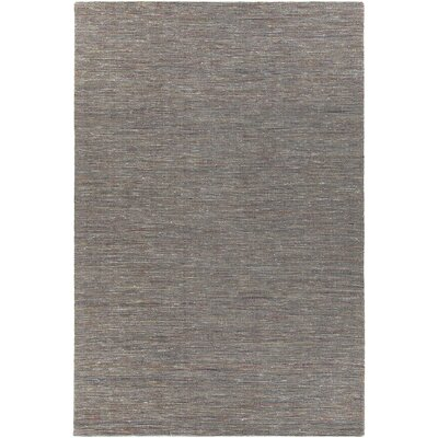 Laxford Hand-Woven Gray Area Rug Rug Size: 5 x 76