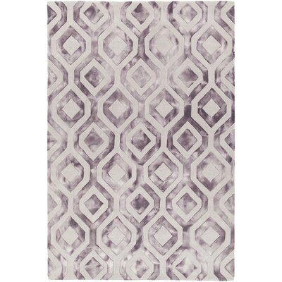 Fran Hand-Tufted Tan/Brown Area Rug Rug Size: 5 x 76