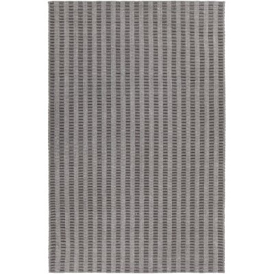 Allerdale Hand-Woven Gray Area Rug Rug Size: 79 x 106