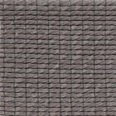 Leff Hand-Woven Gray Area Rug Rug Size: 5 x 76