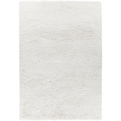 Osim Hand-Woven White Area Rug Rug Size: 9 x 13