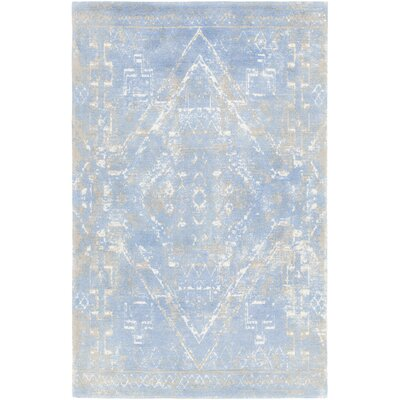 Cristal Hand-Tufted Blue Area Rug Rug Size: Rectangle 79 x 106