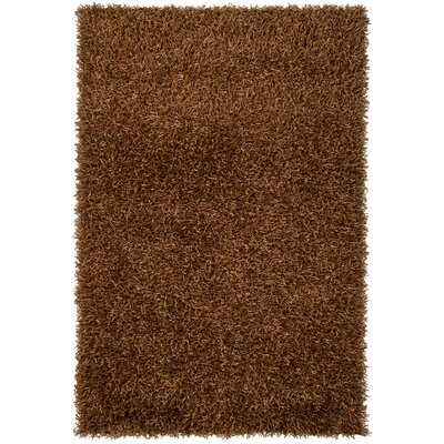 Zara Chocolate Area Rug Rug Size: Rectangle 5 x 76