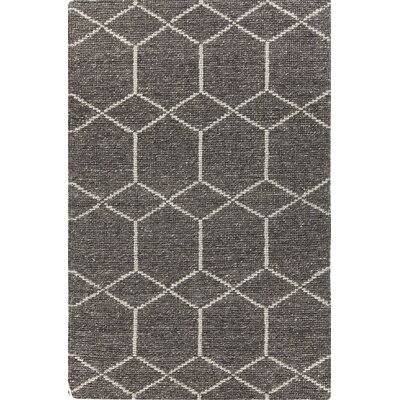 Slone Hand-Woven Gray Area Rug Rug Size: 5 x 76