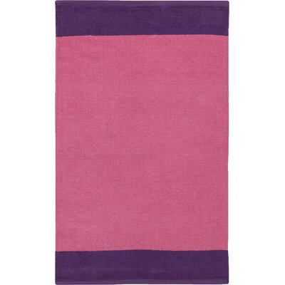 Bath Area Rug Size: 2 x 3, Color: Pink