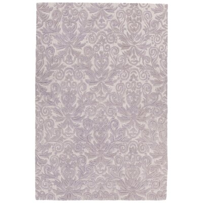 Boothe Hand-Tufted Purple Area Rug Rug Size: 5 x 76