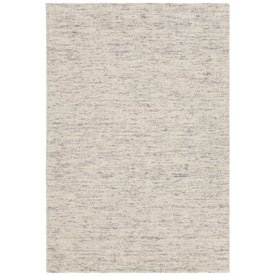 Cunningham Hand-Woven Ivory Area Rug Rug Size: 5 x 76