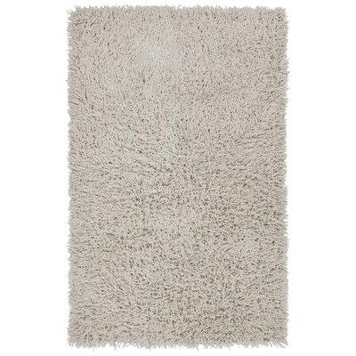 Adahy Hand-Woven Cream Area Rug Rug Size: 79 x 106