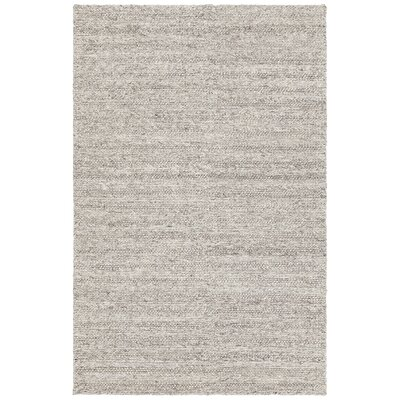 Kite Hand-Woven Silver Area Rug Rug Size: 79 x 106
