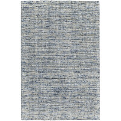 Cunningham Hand-Woven Blue Area Rug Rug Size: 79 x 106