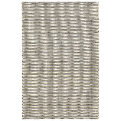 Werner Hand-Woven Green/Black Area Rug Rug Size: 5 x 76