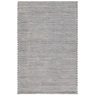 Werner Hand-Woven Blue/Black Area Rug Rug Size: 5 x 76