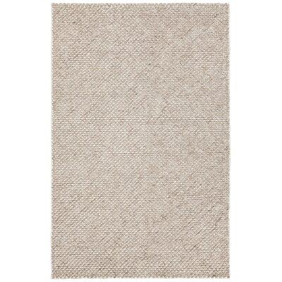 Sylvan Hand-Woven Brown Area Rug Rug Size: 79 x 106