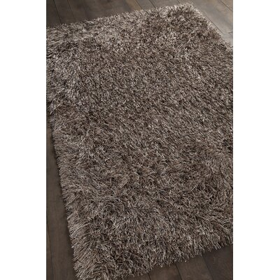 Boomer Hand-Woven Brown Area Rug Rug Size: 9 x 13