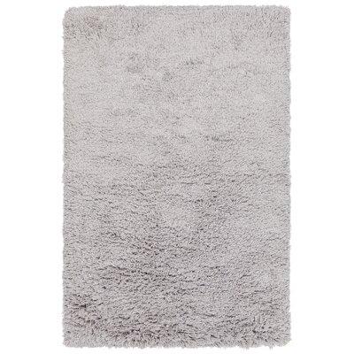 Terrel Hand-Woven Gray Area Rug Rug Size: 79 x 106