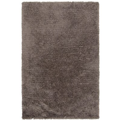 Salyers Hand-Tufted Taupe Area Rug Rug Size: 79 x 106