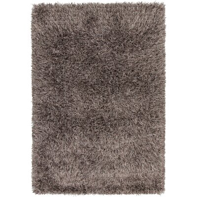 Boomer Hand-Woven Brown Solid Area Rug Rug Size: 79 x 106