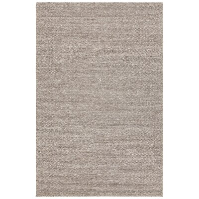 Kite Hand-Woven Brown Area Rug Rug Size: 79 x 106