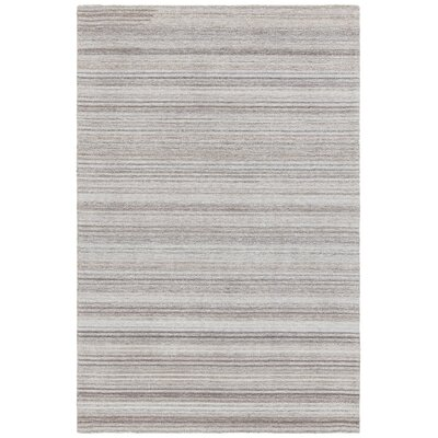 Alhambra Hand-Tufted Gray/Silver Area Rug Rug Size: 79 x 106