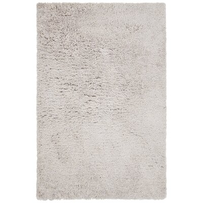Salyers Hand-Tufted Gray Area Rug Rug Size: 5 x 76