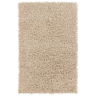 Adahy Hand-Woven Beige Area Rug Rug Size: 5 x 76