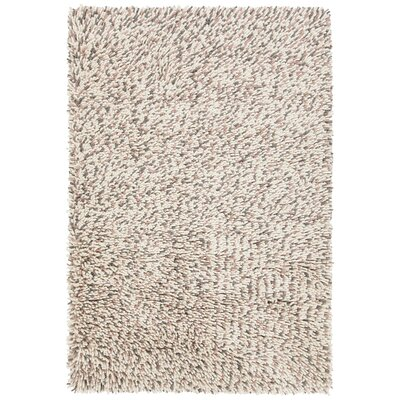 Sharene Hand-Woven Pink/Cream Area Rug Rug Size: 79 x 106