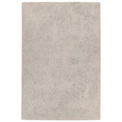 Boothby Hand-Tufted Pink/Gray Area Rug Rug Size: 9 x 13