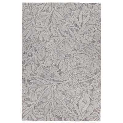 Boothe Hand-Tufted Gray Area Rug Rug Size: 9 x 13