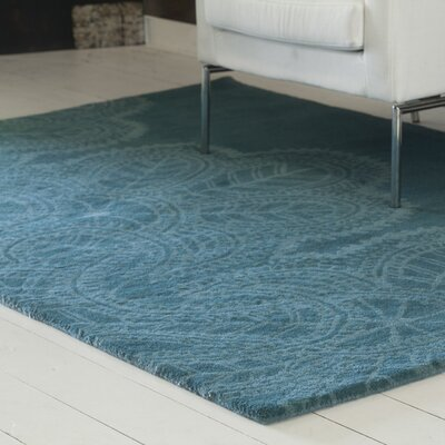 Areyanna Cactus Blue Area Rug Rug Size: Rectangle 5 x 76