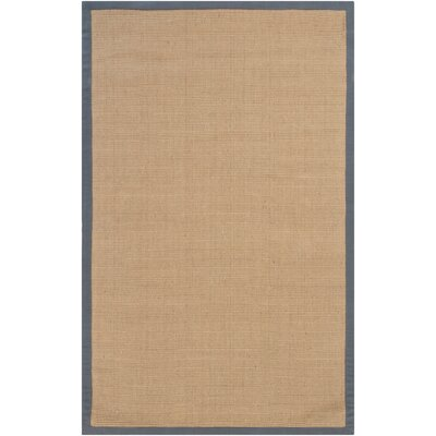Wroblewski Brown/Gray Area Rug Rug Size: Rectangle 2' x 3'