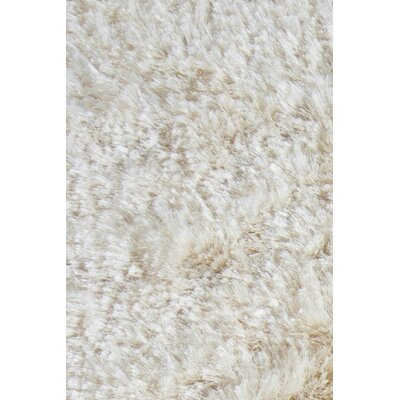 Croydon White Area Rug Rug Size: Rectangle 5 x 76