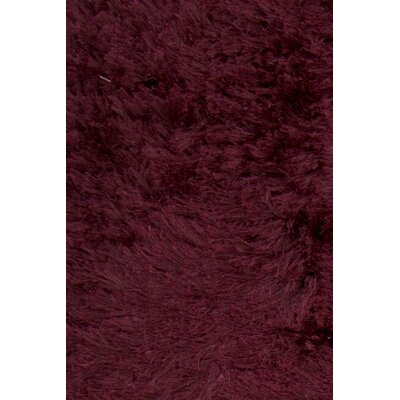 Croydon Hand Woven Cotton Purple Area Rug Rug Size: Rectangle 7'9