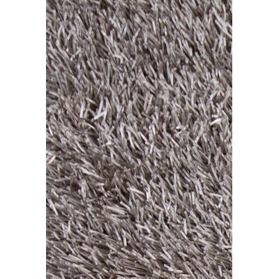 Tiris Black/Grey Area Rug Rug Size: 79 x 106